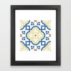 Floor Tile 1 Framed Art Print