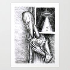 Modigliani  Alien Art Print