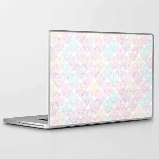 Patterns Of My Heart Laptop & iPad Skin