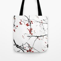 Little Red Kisses Tote Bag