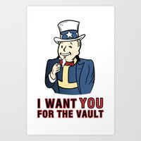 I Want You For The Vault Art Print