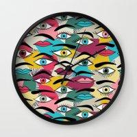 Eye, EyeBrow Wall Clock