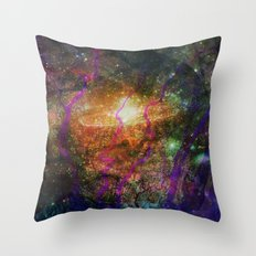 Inner Space 1 Throw Pillow