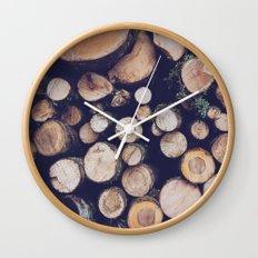 firewood no. 1 Wall Clock