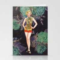 Women In Society 2 Stationery Cards