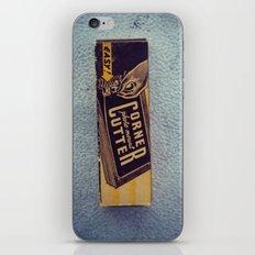 Vintage Corner Cutter iPhone & iPod Skin