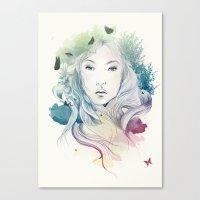 Aoki Canvas Print