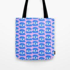Bold Eyes II Tote Bag