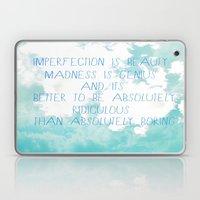Imperfection Laptop & iPad Skin