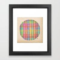 - the table - Framed Art Print