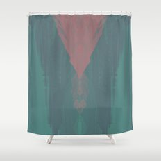 Corrosion Shower Curtain