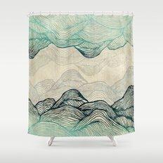 Crash Into Me  Shower Curtain