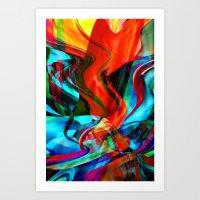 Love Tornado Art Print