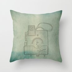 Camera Study no. 2 Throw Pillow