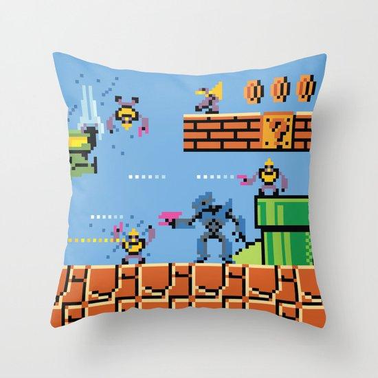 Tragic Kingdom Throw Pillow