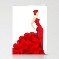 The Dancer (Flamenco) Stationery Cards