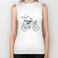 Pizzabike Burger Biker Tank