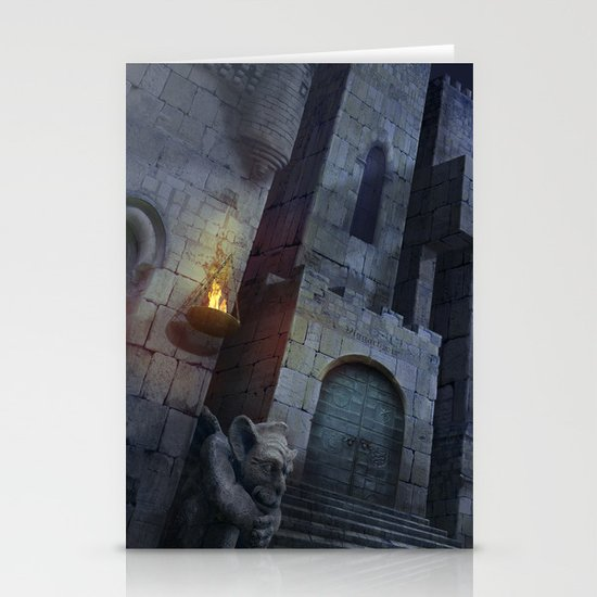 The Castle Stationery Card