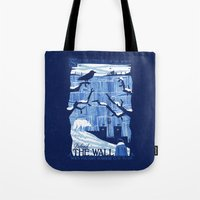 Defend The Wall Tote Bag