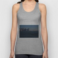 Manhattan Skyline Unisex Tank Top