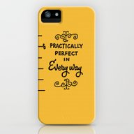 Practically Perfect In E… iPhone (5, 5s) Slim Case