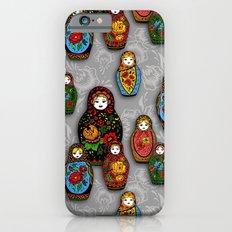 Matryoshki pattern iPhone 6 Slim Case