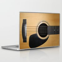 guitar Laptop & iPad Skins featuring Guitar by Nicklas Gustafsson
