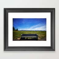 A Place For You With Me Framed Art Print