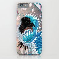 iPhone Cases featuring The Unstoppabull Force by Mat Miller