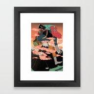 WANDERING GOD OF MOUNTAI… Framed Art Print