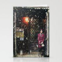 Snowscape I Stationery Cards