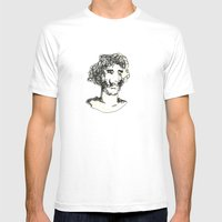 El Baron Mens Fitted Tee White SMALL