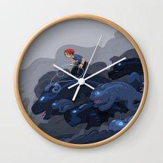 Rainy Day Activities Wall Clock