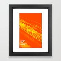 The Love Series 200 Oran… Framed Art Print