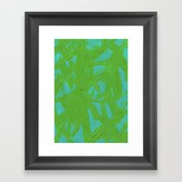 Abstract 136 Framed Art Print