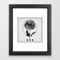 Inked II Framed Art Print