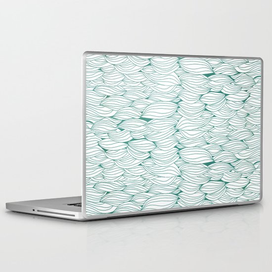 Dancing Feathers Laptop & iPad Skin