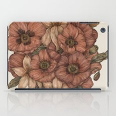 Poppies and Lilies  iPad Case