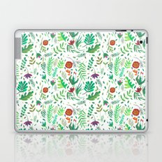 flowers watercolor Laptop & iPad Skin