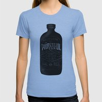 WORKAHOL Womens Fitted Tee Athletic Blue SMALL