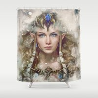 Epic Princess Zelda From… Shower Curtain