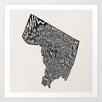 Bergen County, New Jerse… Art Print