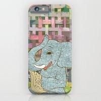 Elephant Reading iPhone 6 Slim Case