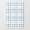 tiles - Portuguese azulejos  Canvas Print