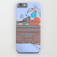 iPhone & iPod Case featuring Retro Music by grrlmarvel