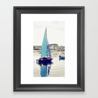 Sailaway Framed Art Print