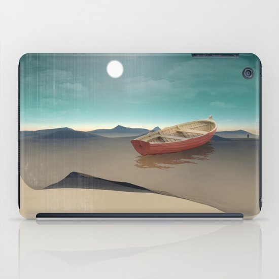 at sea in a void iPad Case