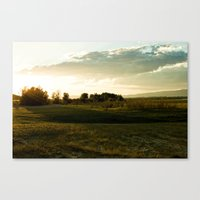One July Evening Canvas Print
