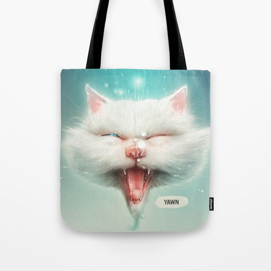The Water Kitty Tote Bag