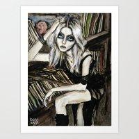 Taylor Untitled Magazine Art Print